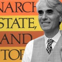 Robert Nozick -Nozick's 1974 Anarchy, Utopia and State became the standard theoretical defense of libertarian government.