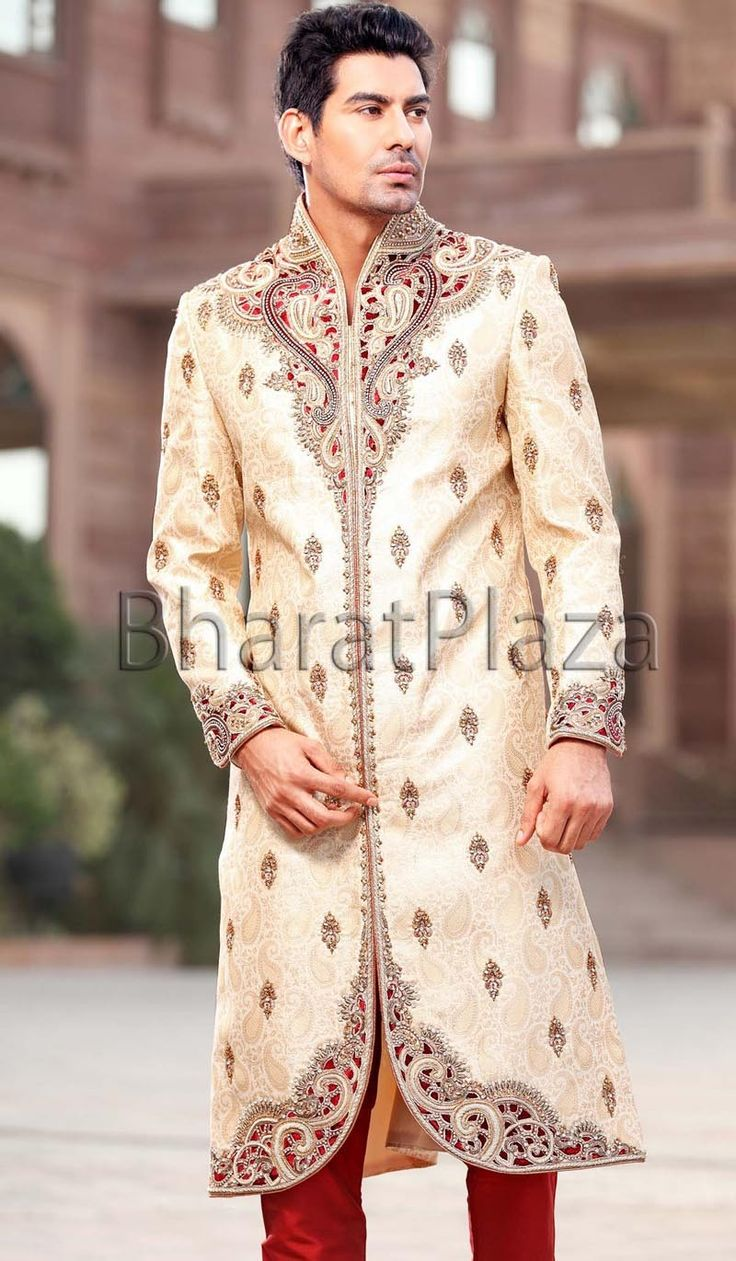 Stylish Elegance Wedding Sherwani