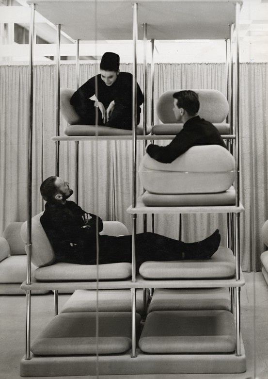 Designed by Verner Panton.