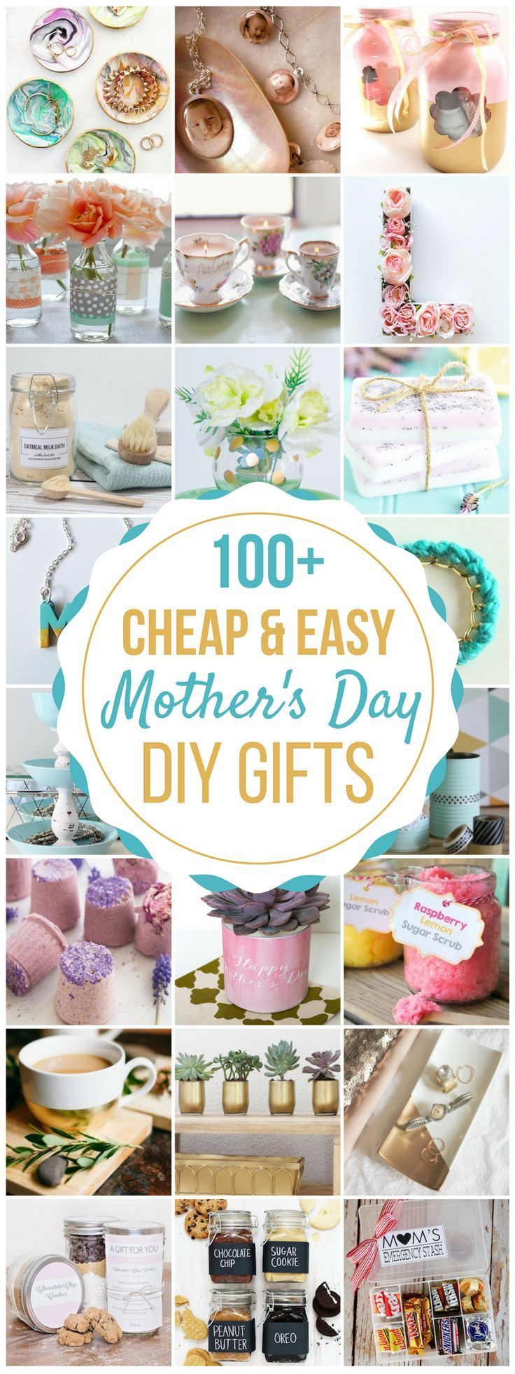 100 Cheap & Easy DIY Mother's Day Gifts