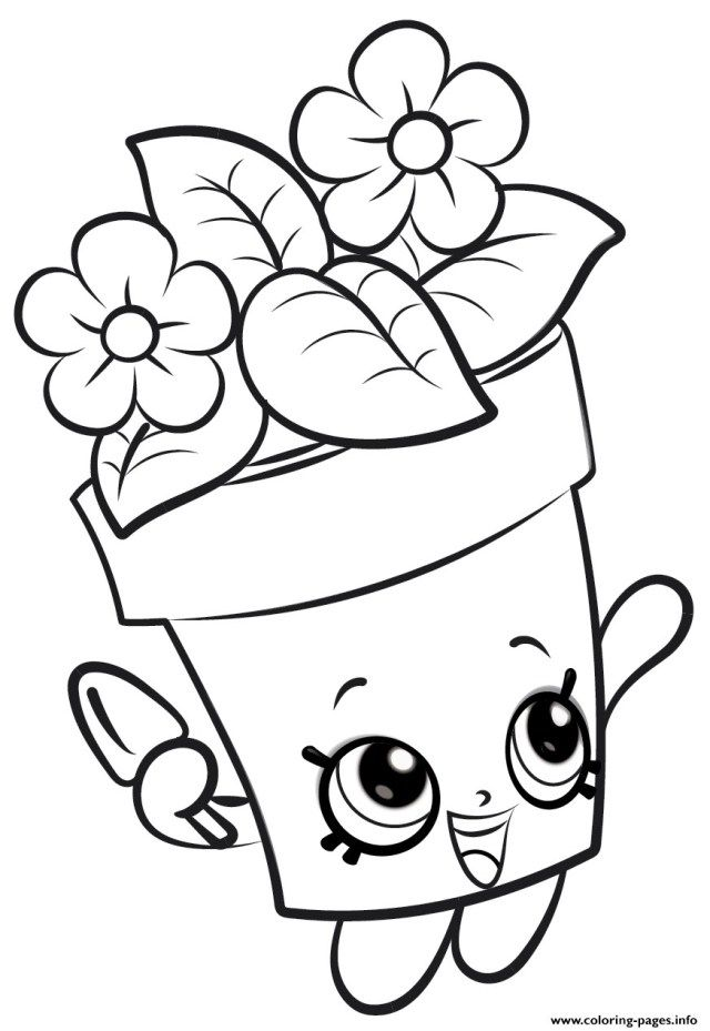 21 Awesome Image Of Flower Coloring Pages Entitlementtrap Com Shopkins Colouring Pages Barbie Coloring Pages Free Coloring Pages