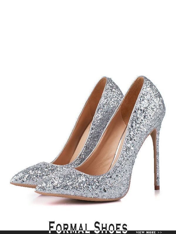 6203c1bdb93c High Heeled Sparkly Wedding Shoes Sequined In Gold 2018  MSL-7841 ...