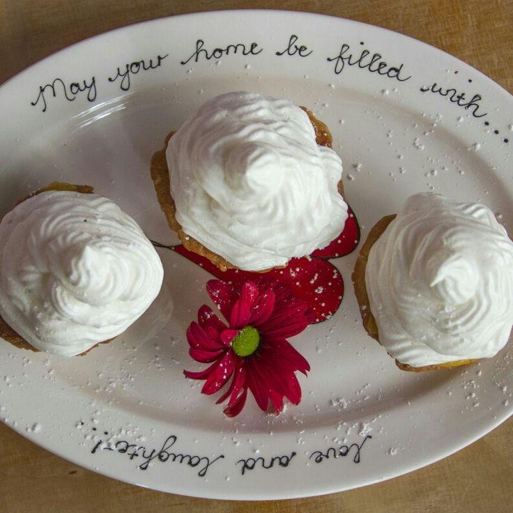 Lemon merengue tartlets