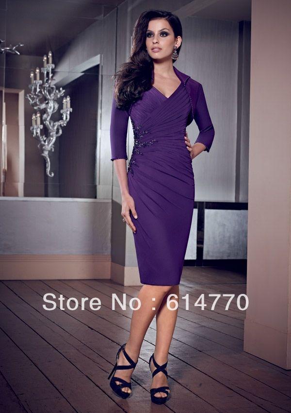 Mother Of The Bride Purple Dress Dresses