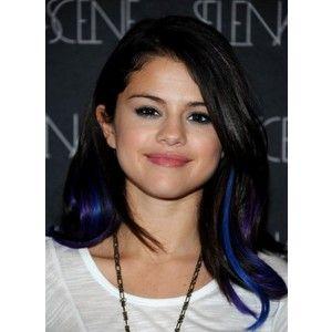 The 25 best blue hair streaks ideas on pinterest colored hair black hair with blue peek a boo highlights pmusecretfo Gallery