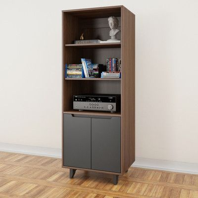 Lovely Bush Furniture Buena Vista Audio Cabinet