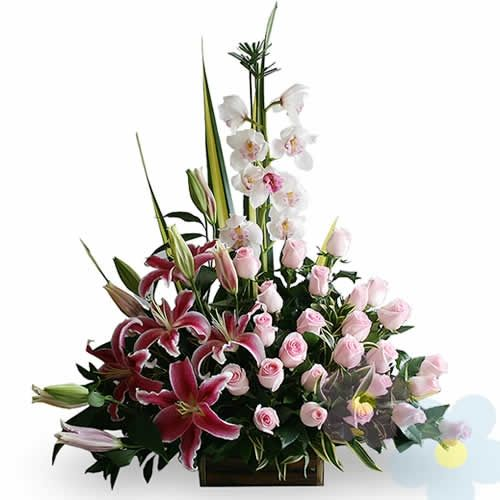 arreglo de flores sasha elaborado por
