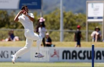 Uncapped Ishwar Pandey made an immediate impact for India