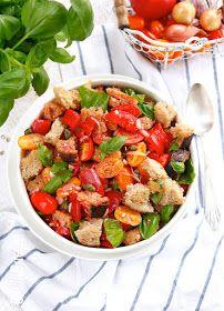Panzanella - najlepsza sałatka z chleba i pomidorów