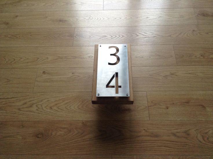 modern home number