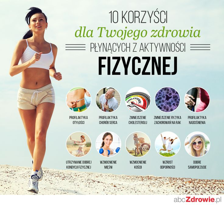 O korzyściach, jakie przynosi nam aktywność fizyczna, nie trzeba chyba nikogo przekonywać! :)