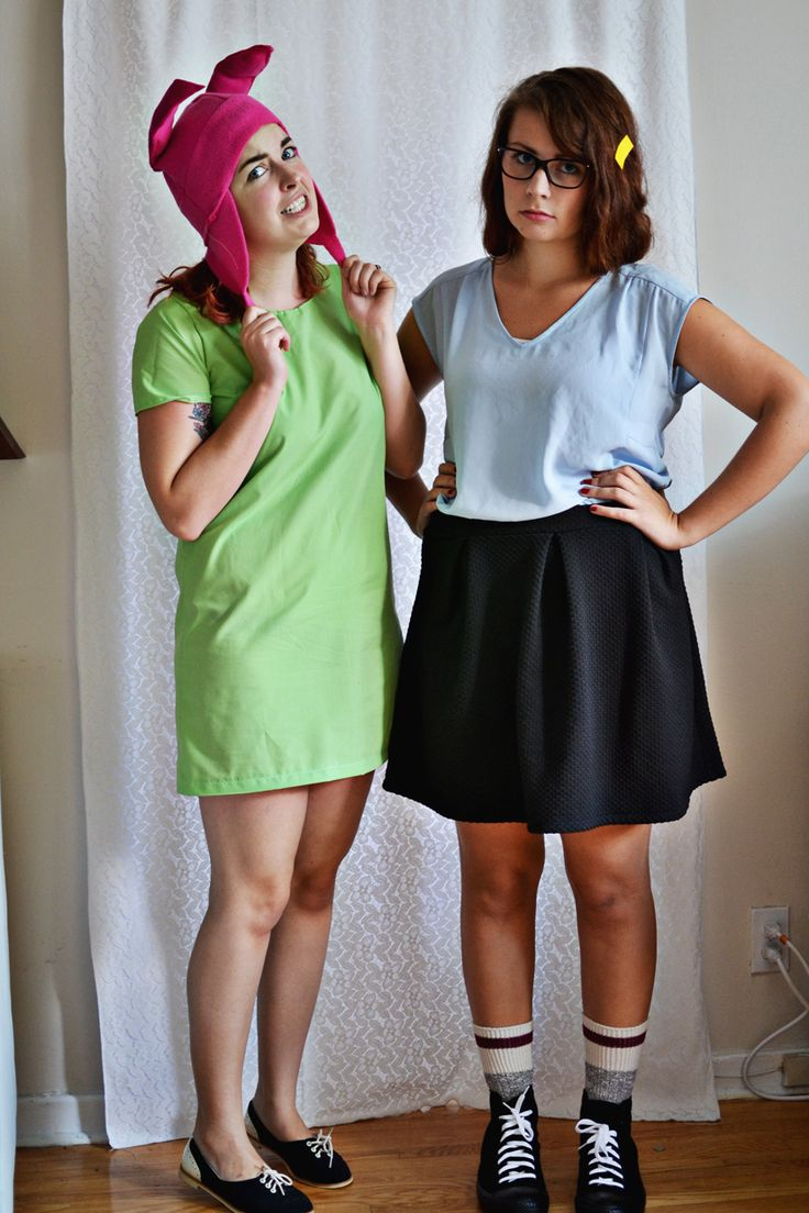 Louise and Tina Belcher / Bob's Burgers Halloween Costumes / Whimsy Darling