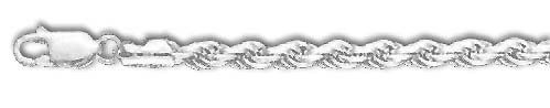 Sterling Silver 10 Inch X 5.0 mm Rope Chain Anklet -- For more information, visit image link. (This is an Amazon Affiliate link and I receive a commission for the sales)