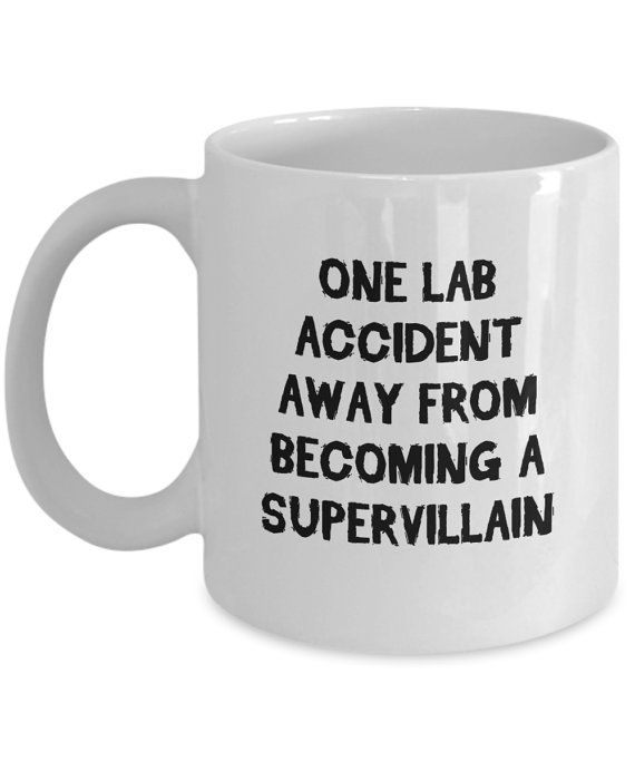 Chemistry Mugs One Lab Accident Away From Becoming by JingleWares