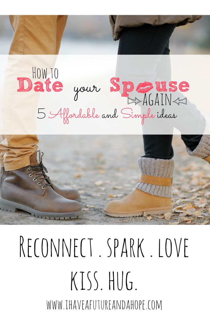 Have kids, but still want to date your spouse? I share 5 date ideas that will help you date your spouse again.