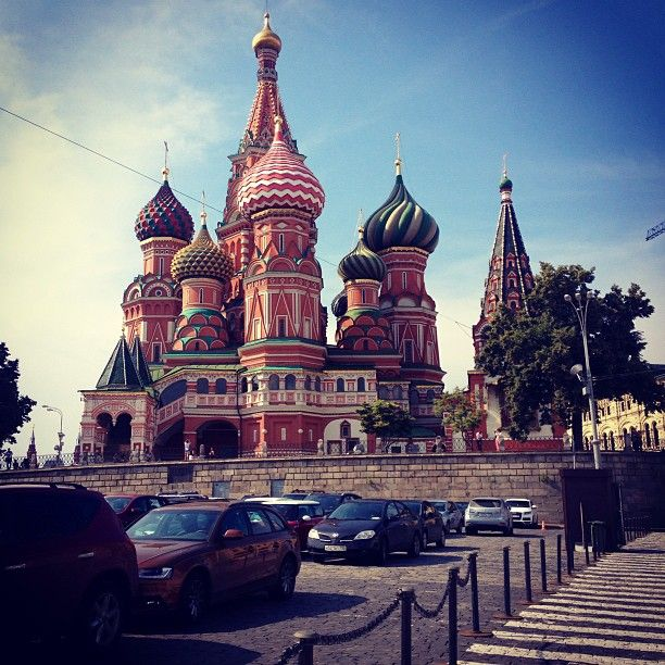 The incredible architecture in Moscow has always fascinated me. Every time I read about it in a book it makes me wonder what it would be like to see it in real life!
