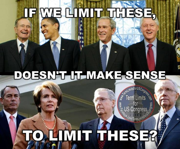 We need term limits!!!