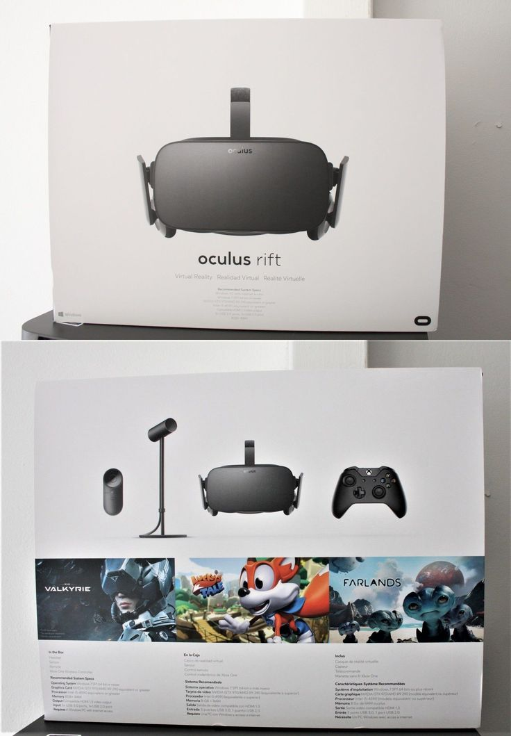 PC and Console VR Headsets: Newest 2016 Oculus Rift Vr Headset Cv1 (Rare) Brand New Sealed, Free Shipping! BUY IT NOW ONLY: $749.0