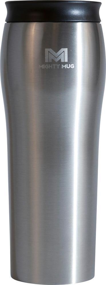 Mighty Mug - Go 16.7-Oz. Thermal Cup - Silver