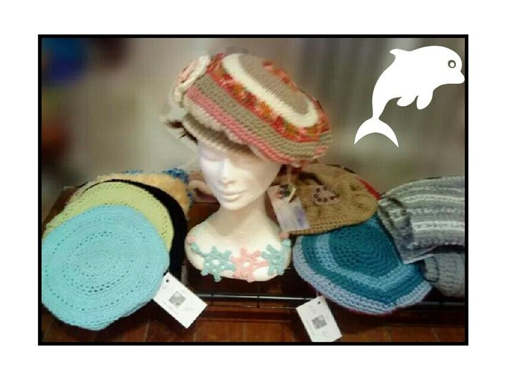 Bonnets et berets multicolores