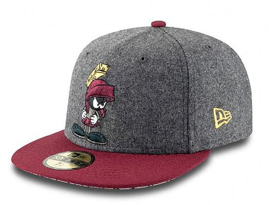 NEW ERA x LOONEY TUNES 「Marvin The Martian」59Fifty Fitted Baseball Cap  a3729fa44bf