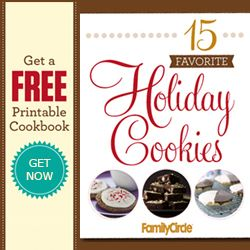 Free Holiday Cookies Recipe Book