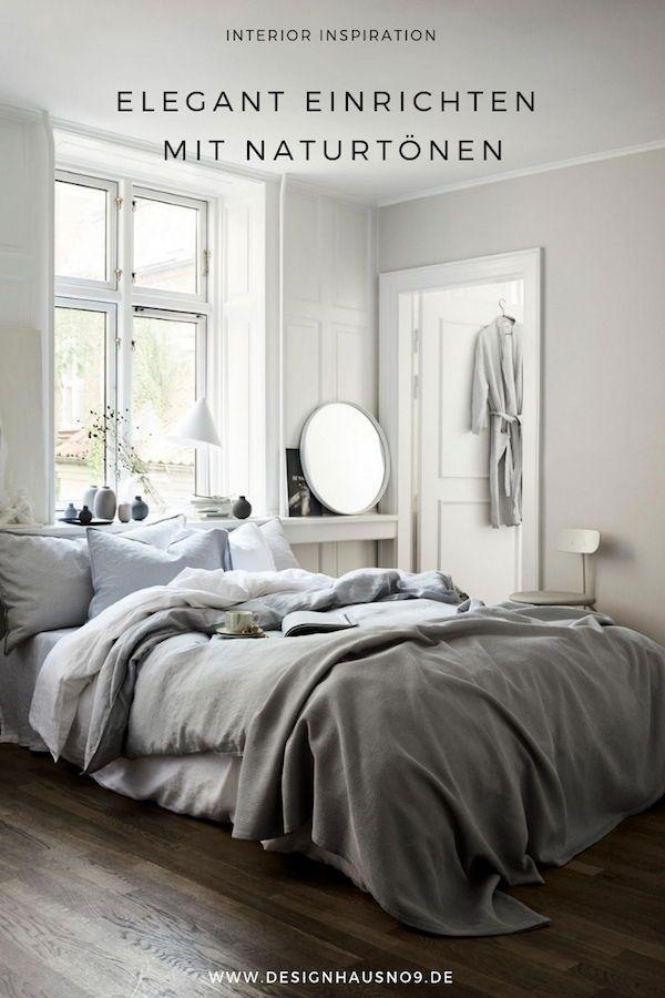 Elegant Einrichten Mit Naturtonen Wohnung Schlafzimmer