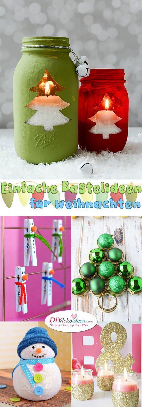 Einfache Bastelideen für Weihnachten, die Freude bringen