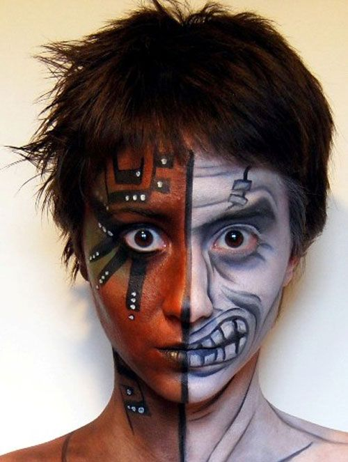 15 best facepainting ideas to try images on pinterest for Latest face painting designs
