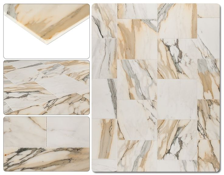 "Calacatta Gold / 12""x24"" / Polished"