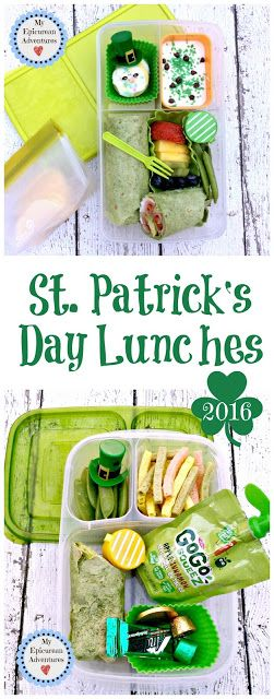 My Epicurean Adventures: Happy St. Patrick's Day Lunches 2016