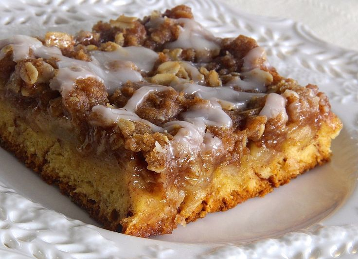 Clever Hacks For Refrigerated Cinnamon Roll Dough | Cinnamon Roll Apple Crisp