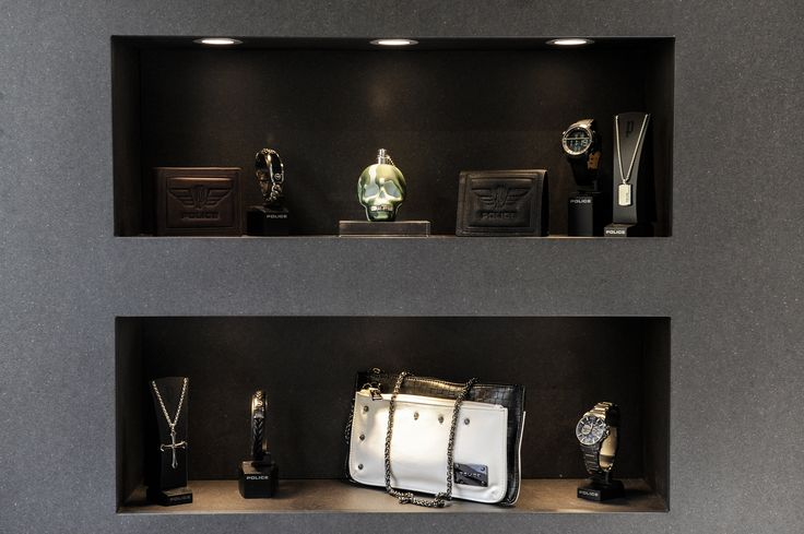 Our showcased products in our brand new Milan store
