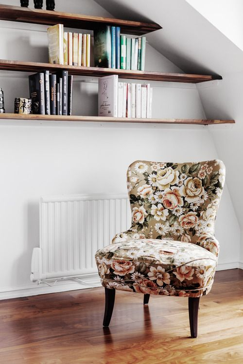 25+ best ideas about Floral chair on Pinterest