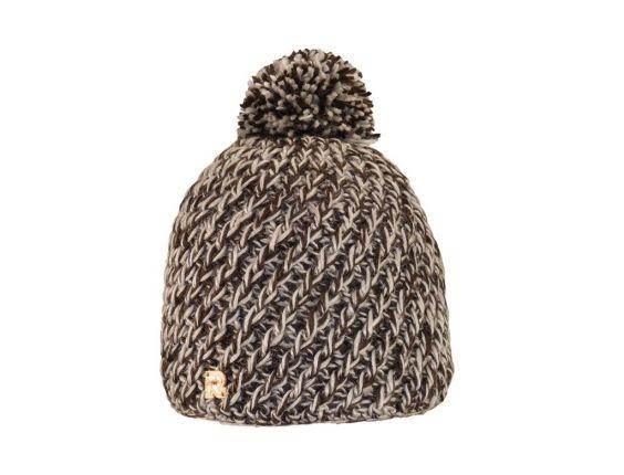 Bonnet Ice Tricot marron #bonnet #rentree #herman1874 #ski
