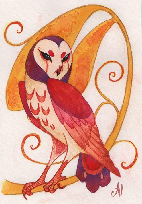'Whimsical Owl' by Al Lukehart