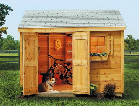 The HideAway Shed Is A Storage Shed Built To Fit Small Areas. | For The  Home | Pinterest | Gardens, Yard Ideas And Yards