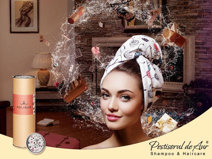 Părul nostru e ca o carte de vizită și ne dorim să-l păstrăm îngrijit și sănătos. Folosim tot felul de măști, șampoane sau tratamente special create pentru păr. De ce nu am face același lucru și în privința porosopului? De ce să nu avem un prosop special pentru păr, delicat, elegant, extravagant? Fă cunoștință cu Aglique și răsfață-ți podoabă capilară cu atingerea sa delicată și luxoasă! Comandă aici: https://www.pestisoruldeaur.com/Aglique