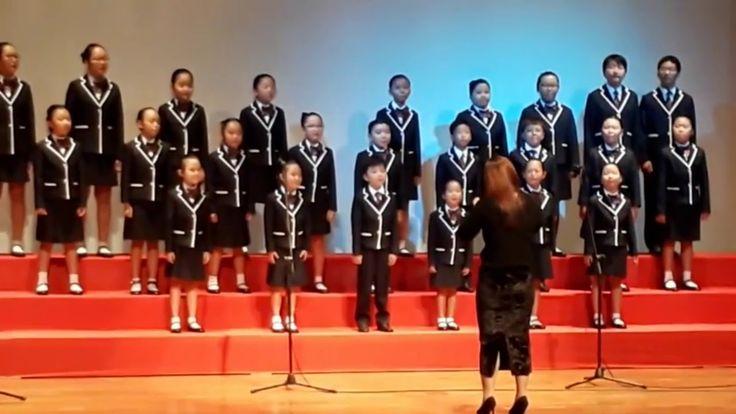 손녀와 손자의 합창단 발표회(부산중구초등학교연합합창단)
