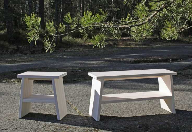 PENKIT by Karell Design #bench #pine #wood #karelldesign