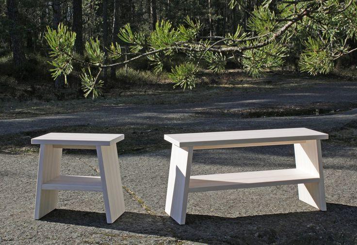PENKIT by Karell Design #bench #pine #wood #karelldesign