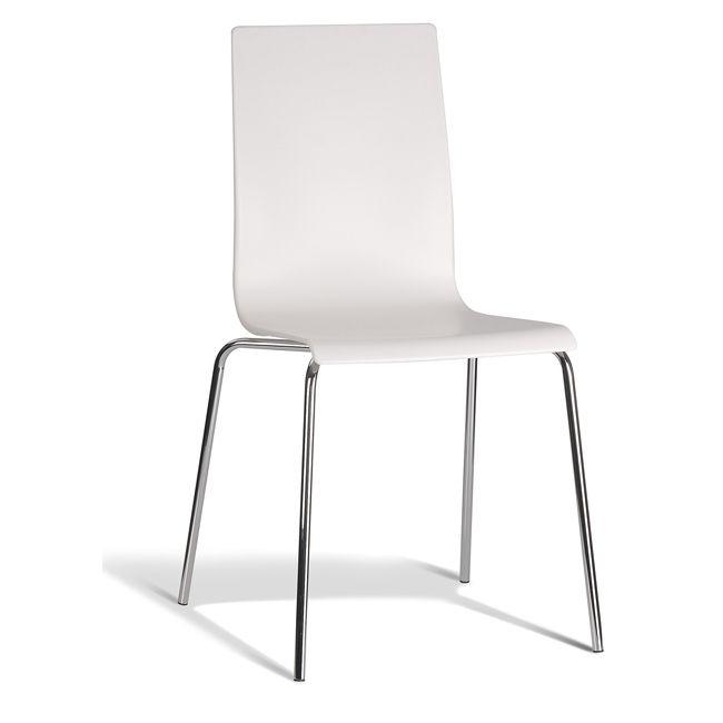 Dara Chair - Matt Finish Back and Seat