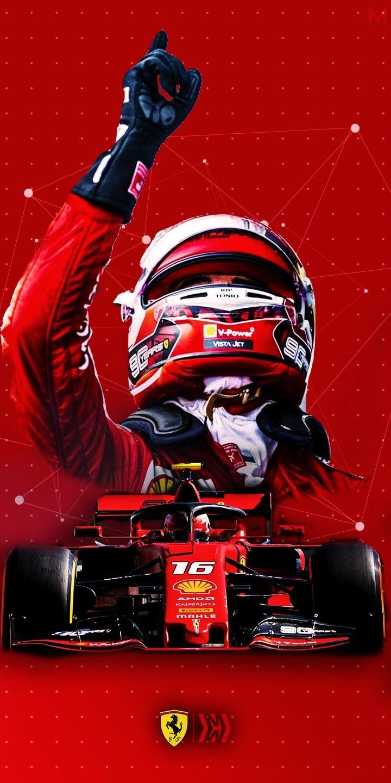 Charles Leclerc Ferrari F1 Auto Da Corsa Auto Da Sogno Auto