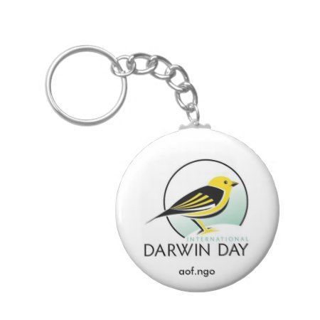 International Darwin Day Keychain - tap to personalize and get yours