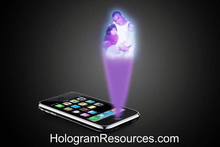 Hologram technology will soon be available for the consumer. Engineers have been developing a hologram phone.