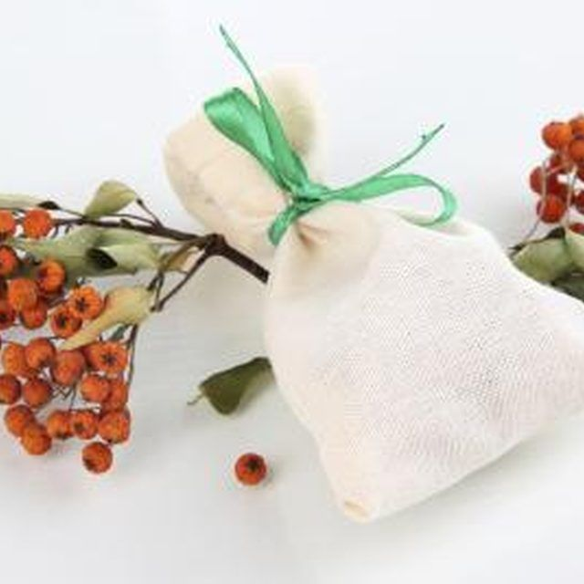 Natural-fiber woven fabrics allow the scent to disseminate better.