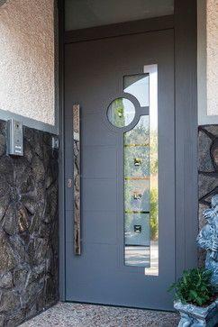 Aluminum Modern Front Entry Door - contemporary - Front Doors - New York - Ville Doors