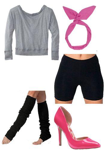 Easy #Flashdance Costume