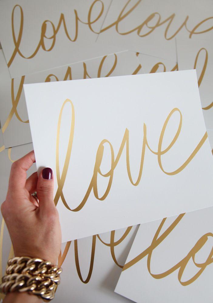 Gold. Love. Art.