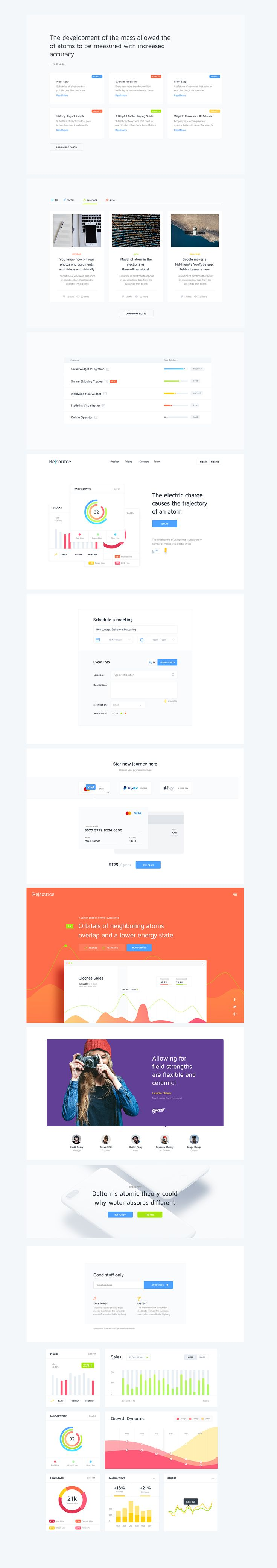 Resourсe | UI/UX Tool for Web Services on Behance